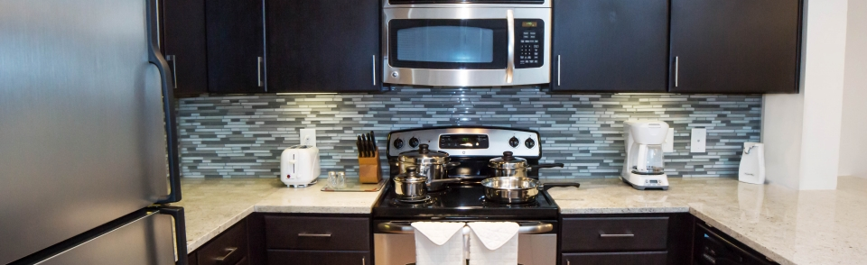 Select Corporate Housing - Fully Equipped Kitchens