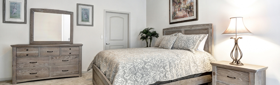 Private Bedrooms make our furnished rentals great for relocating families