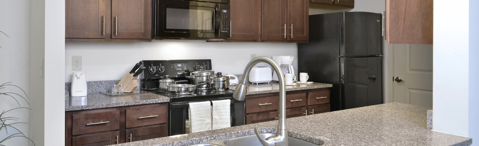 Fully Equipped Kitchens with Select Corporate Housing's Extended Stay Rentals