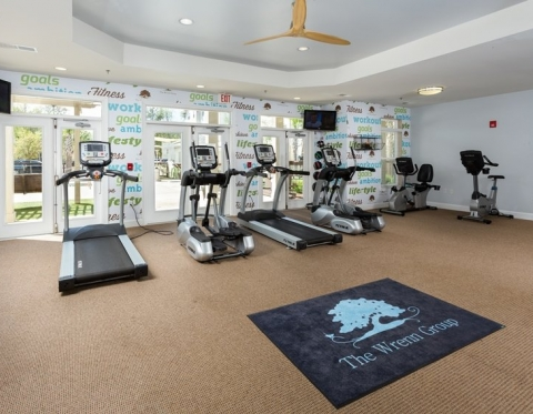 Furnished Apartments in Hanahan SC at Channel at Bowen  - Fitness Center