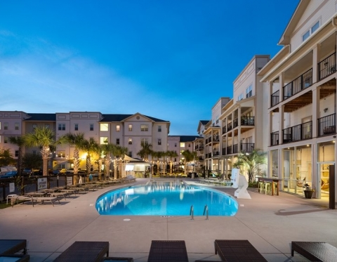 Furnished Apartments in Hanahan SC at Channel at Bowen Apartments - Pool