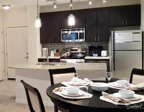 Elan Midtown Furnished Apartments in historic Downtown Charleston SC - Kitchen