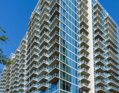 Midtown Atlanta High Rise Luxury at Sixty 11th Apartments ...