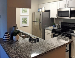 Fully-Equipped Kitchen - Furnished Apartment Suites at Viera Aiken