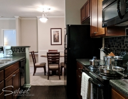 Temporary Housing in Evans, Georgia - Full Size Kitchens - Fully-Equipped