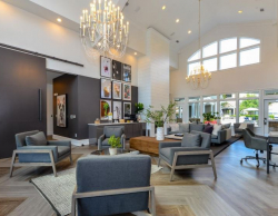 Lobby at Avana North Point in Alpharetta GA