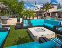 Outdoor Entertainment Area at Century Deerwood Park Southside Jacksonville