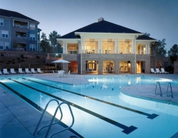 Cornelius NC Temporary Housing: Bexley at Lake Norman - pool