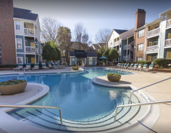 Greenville SC all-inclusive apartment rentals at Hawthorne Park