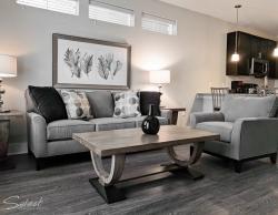 Stylish Living Room- Premium North Charleston Furnished Rentals