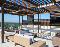Rooftop Terrace at Square One Apartments Atlanta
