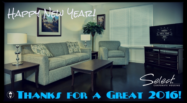 Happy New Year from Select Corporate Housing!