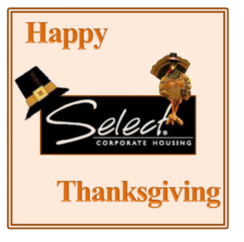 Happy Thanksgiving from Select Corporate Housing